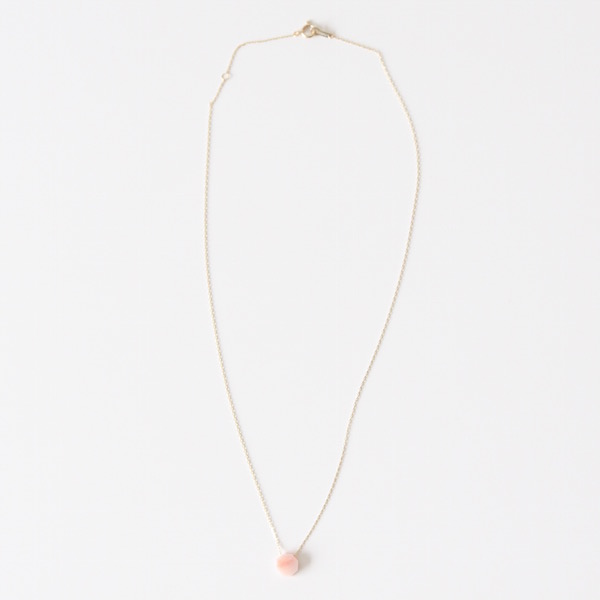 OCTAGON NECKLACE(pink)