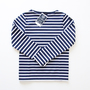 Le minor バスクシャツ 115 MARINE/BLANC