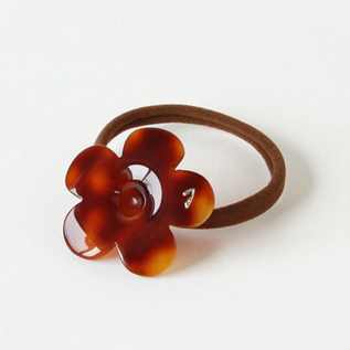 Hair Elastic Band Flower