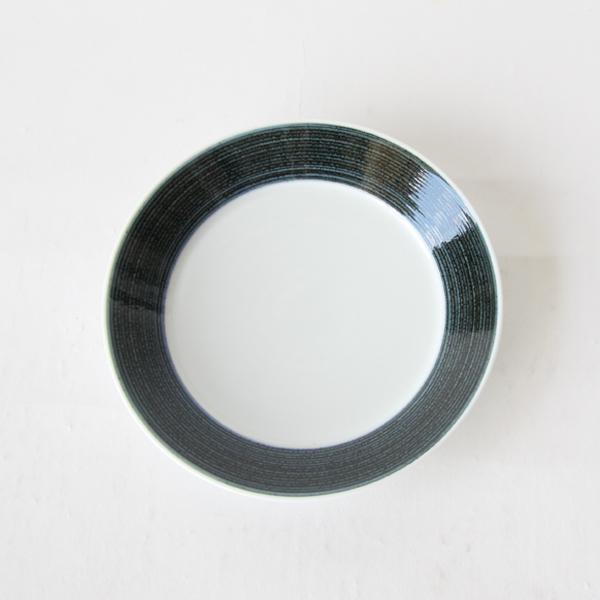 麻の糸 プレートS ペアセット(インディゴ色とセピア色が1枚ずつのセット)