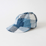 Laura Sr Large Check Blue(キャップ帽)