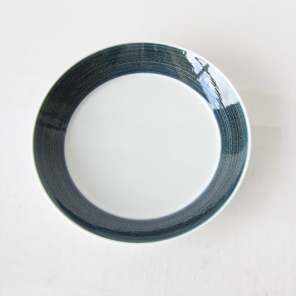 麻の糸 プレートM ペアセット(インディゴ色とセピア色の1枚ずつのセットです)