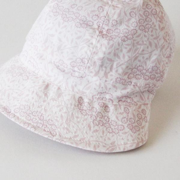 淡いピンクの柄で優しい雰囲気
