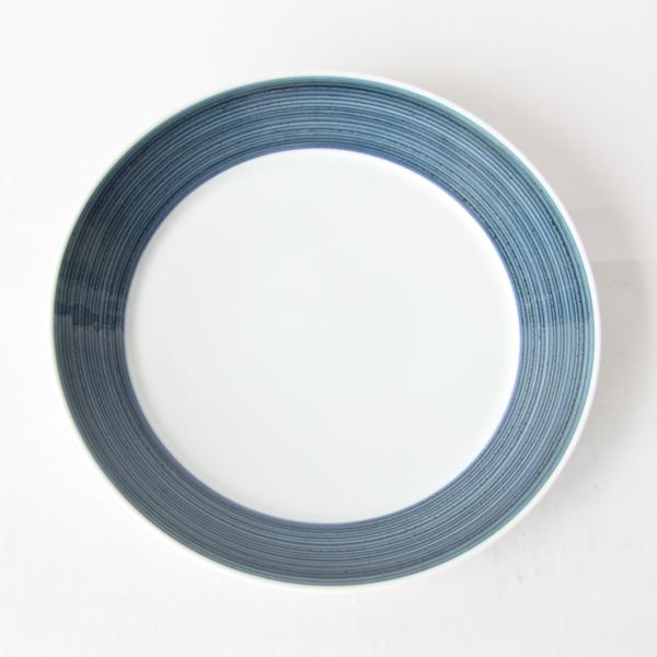 麻の糸 プレートLペアセット(インディゴ色とセピア色の1枚ずつのセットです)