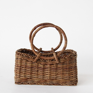 AKEBIA BASKET BAG TRAPEZOID