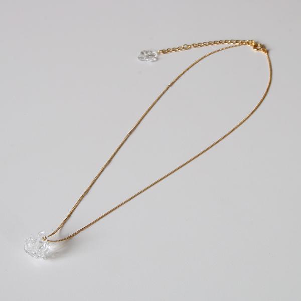 ネックレス 1 シロツメクサ