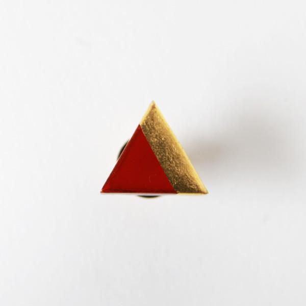 三角シリーズ(朱)