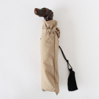 Guy de jean 晴雨兼用折りたたみ傘 Dog