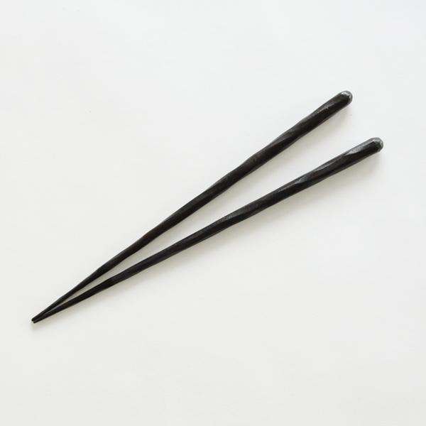 けずり黒壇箸先うるし(大)