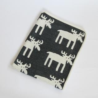 ミニシュニールブランケット(70×90)ムース