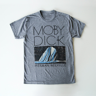 T-SHIRT MOBY DICK  -GRAY