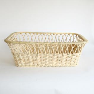 Wicker basket square type Yarai