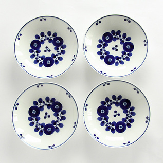 FOUR PIECES OF BLOOM BOUQUET PLATE