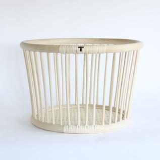 Rattan basket Round
