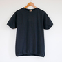 クルーネック ショートスリーブ Tシャツ OFF BLACK
