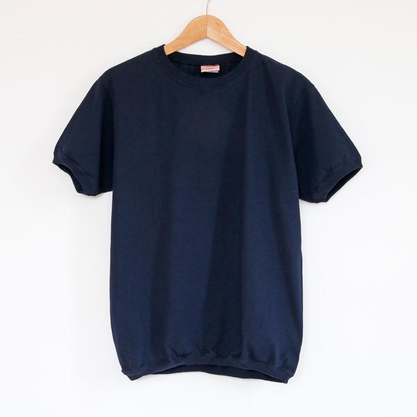 クルーネック ショートスリーブ Tシャツ MARINE