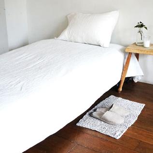 Linen single sheets