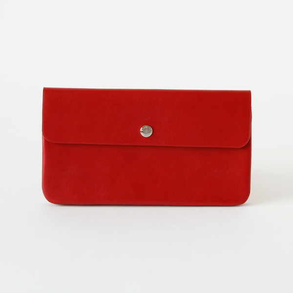 LONG FLAP WALLET(ロングフラップウォレット)(RED)