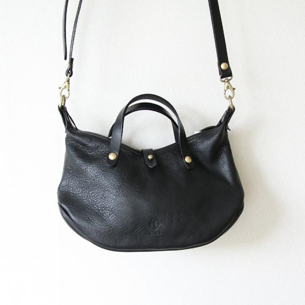 上品さと可愛さを兼ね備えた2WAYバッグ ミニ Black