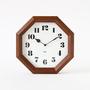 Octagonal clock