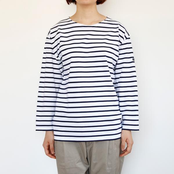 size 1着用イメージ(身長163cmのモデルの場合、丈はジャストサイズで袖周り・身幅はゆったりとしたシルエットに。)