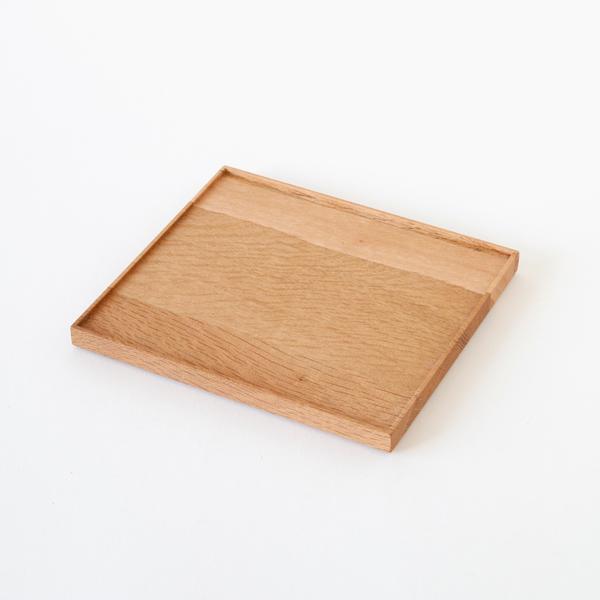 東屋 折敷 胡桃油仕上(四つ切)