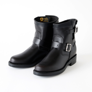 Women Engineer Boots  Black