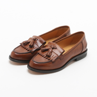 Tassel loafers Brown