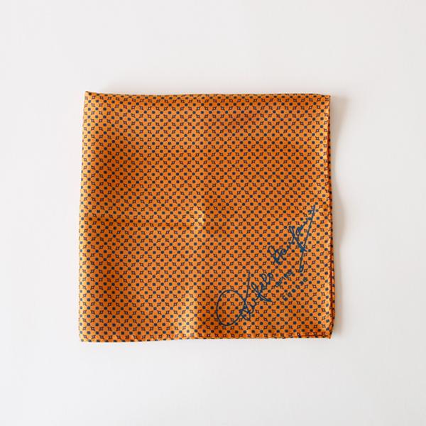 スカーフ 43×43(イエローオレンジ)