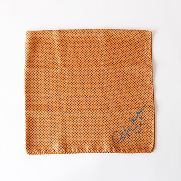 スカーフ 65×65(イエローオレンジ)