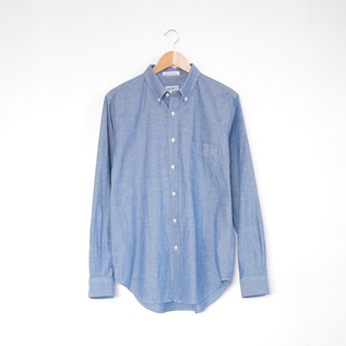 Men Long Sleeve B.D. shirt CHAMBRAY