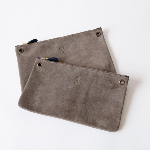 ショルダーストラップを外し、単体でポーチやクラッチバッグとしても使えます