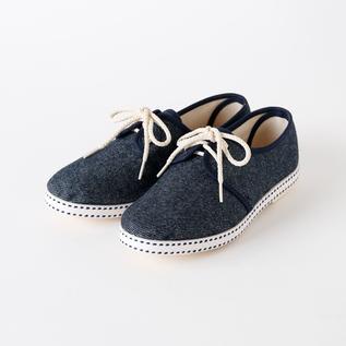 Bespoke Medical sneakers wool denim BLUE