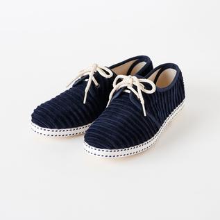 Bespoke Medical sneakers corduroy NAVY