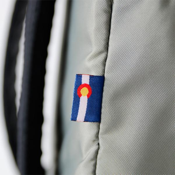 コロラド州旗タグ(別色のFoliage)