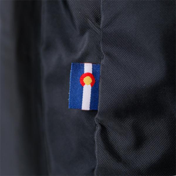 コロラド州旗タグ(別色のRaven)