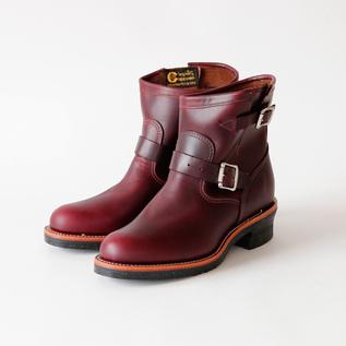 Men Engineer Boots cordovan