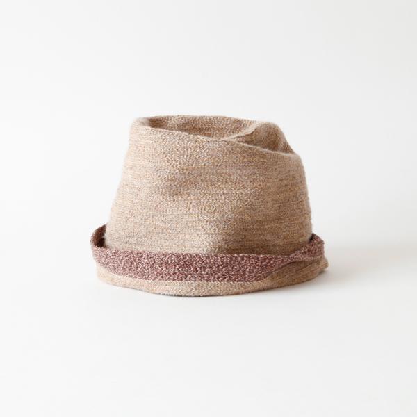 ブレードリバーシブル帽 soma(beige)