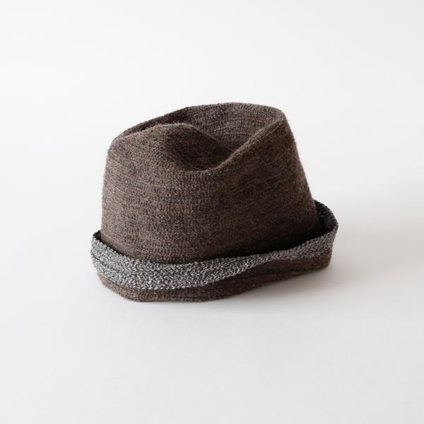 ブレードリバーシブル帽 soma(brown)