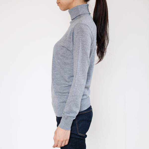 着用イメージ(モデル身長:165cm、着用サイズ:S、カラー:Gris)