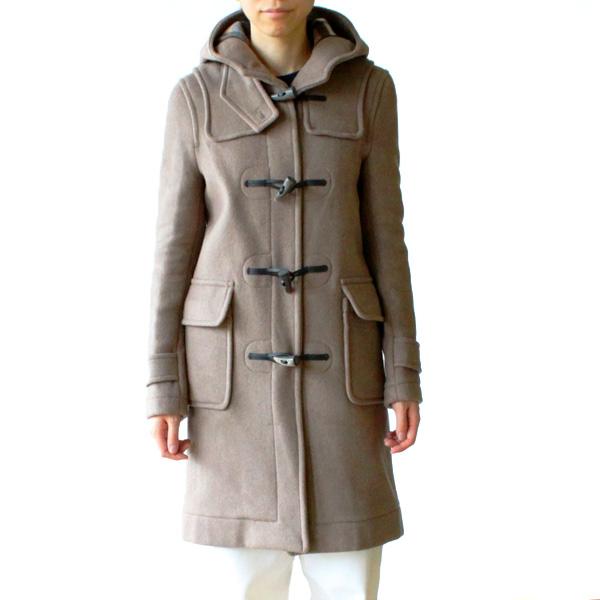 ダッフルコート 女性着用イメージ(モデル身長:165cm、着用サイズ:34)