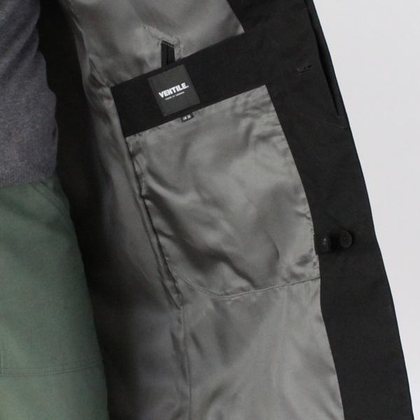 裏生地とポケット
