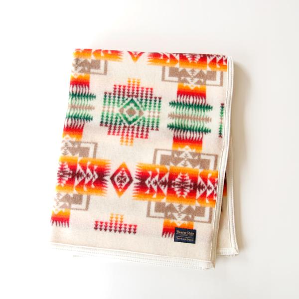 ブランケット ChiefJoseph Muchacho Blankets Ivory