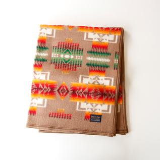 ブランケット(81×112)Chief Joseph Muchacho Blankets  Khaki