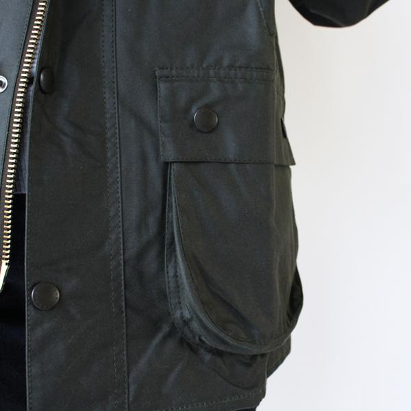 マチのある大きなポケット