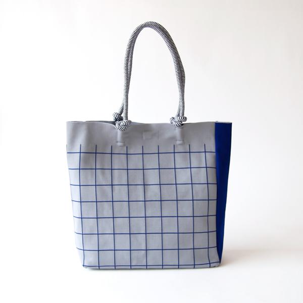 チェックコードバッグ(38 BLUE)