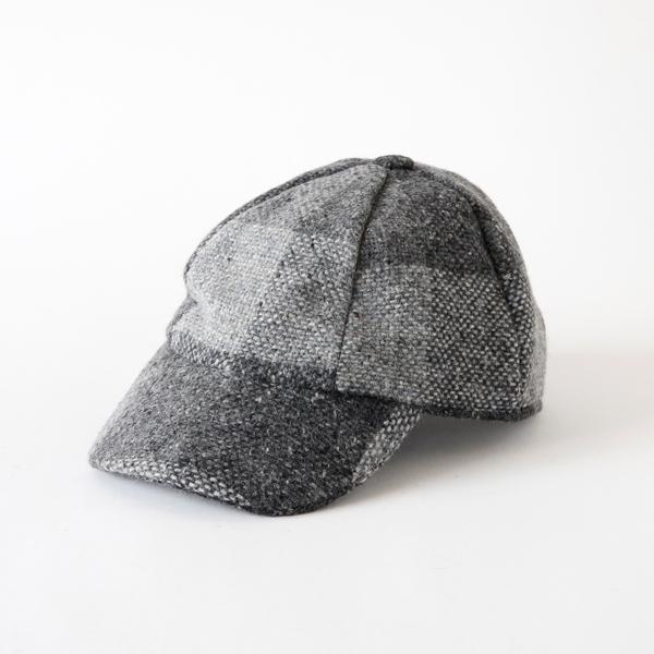 ツィードキャップ 411B(Grey)