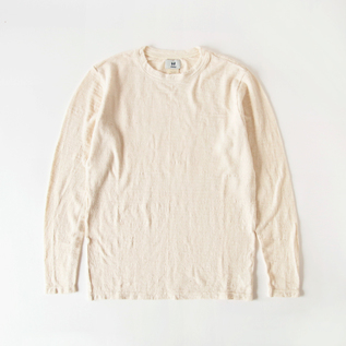 Long-sleeved Crew neck T-shirt