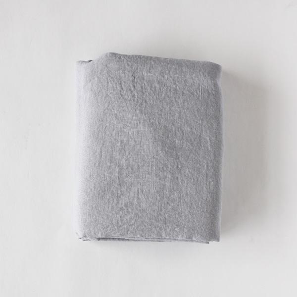 リネンフラットシーツ(Light Gray)