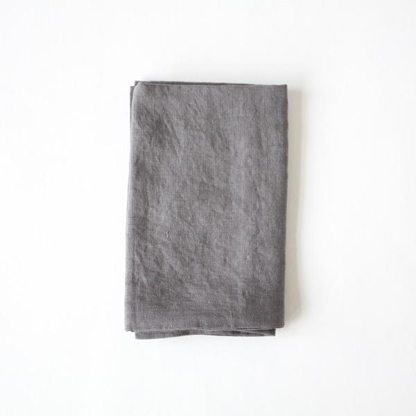リネンピローケース(Dark gray)